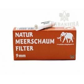 Filtry Natur Meerschaum 9mm 20 szt