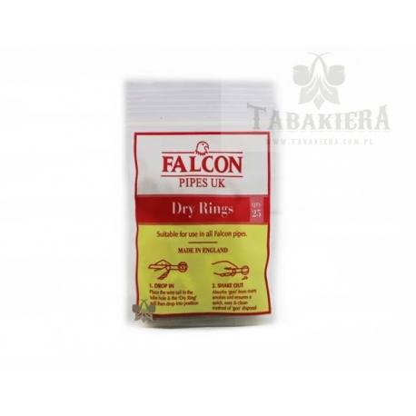 Filtry Falcon Dry Rings 25 szt