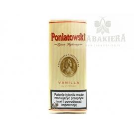 Tytoń fajkowy Poniatowski Vanilla 40g