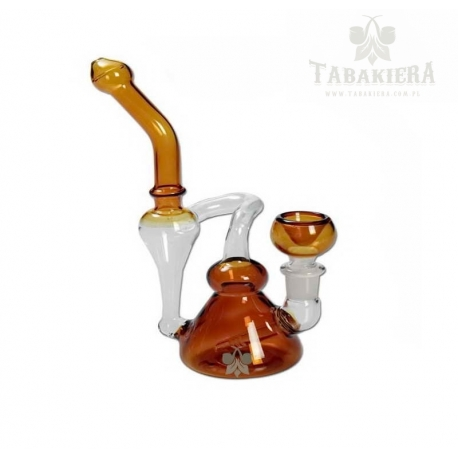 Fajka wodna bongo - Amber Recycler