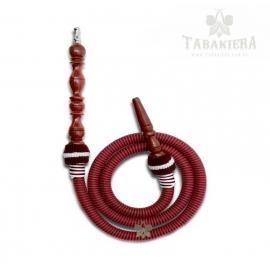 Wąż do shishy Jumbo - bordowy