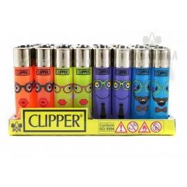 Zapalniczka Clipper decor - Twarz