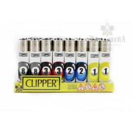 Zapalniczka Clipper - Bila