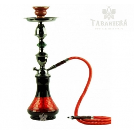 Shisha Schwarz Black and Red