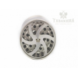 Młynek do tytoniu - grinder srebrny