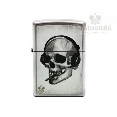 Zapalniczka Zippo Headphone Skull