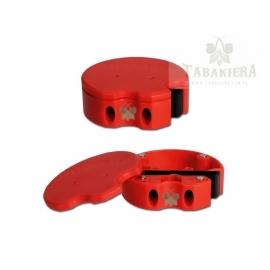 Tabakiera Snuff Box - Red