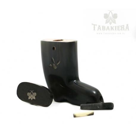 Tabakiera but mały - zdobiony