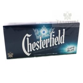 Gilzy Chesterfield Caps Blue 100 szt