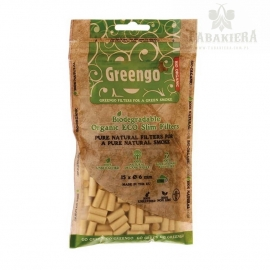 Filtry Greengo Slim Organic 200szt