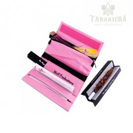 Etui na tytoń i bletki - Pink