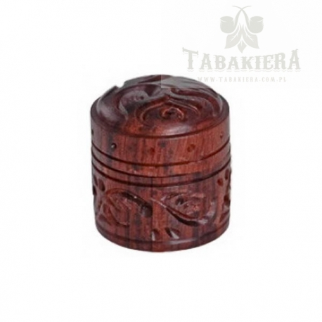 Tabakiera drewniana
