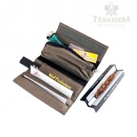 Etui na tytoń i bletki - Szare