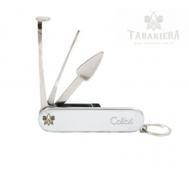 Przybornik fajkowy Colibri - Sherlock Silver