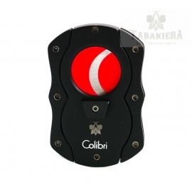 Obcinarka do cygar Colibri - Black and Red