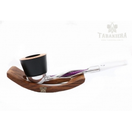 Fajka Falcon Twisted Purple - White