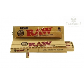 Bibułki RAW Connoisseur - KS SLIM + Prerolled Tips Box 24