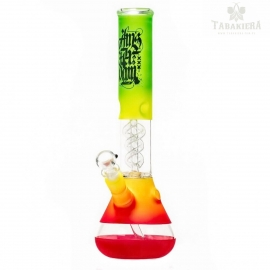 Bongo Glass Amsterdam Rasta - Dyfuzor Spiral