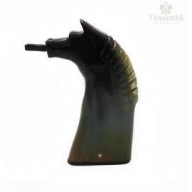 Tabakiera z rogu - Koń wzór 2