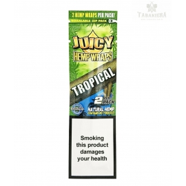 Owijki Juicy Jays Hemp Wraps Tropical 2 sztuki