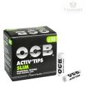 Filtry do Jointów OCB Slim z aktywnym węglem