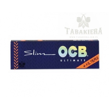 Bibułki OCB Slim Ultimate + Filters