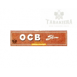 Bibułki OCB Virgin Brown Slim