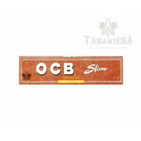 Bibułka OCB Virgin Brown Slim